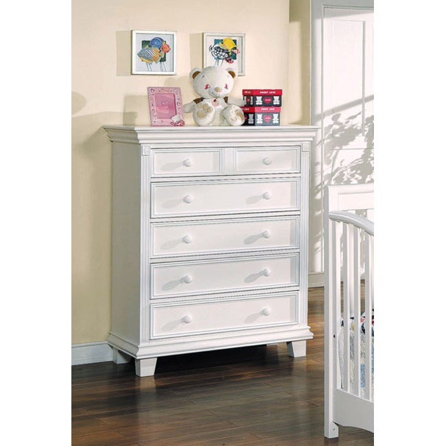 White Finish Heartland Chest