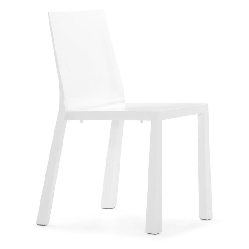 Popsicle White Dining Chair (Set of 4) - Thumbnail 0