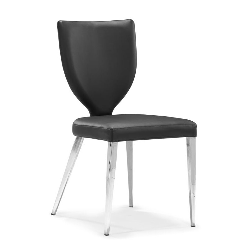 Maz Black Dining Chair (Set of 4)