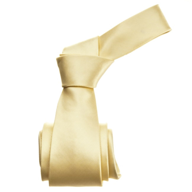 Republic Men's Solid Gold Tie