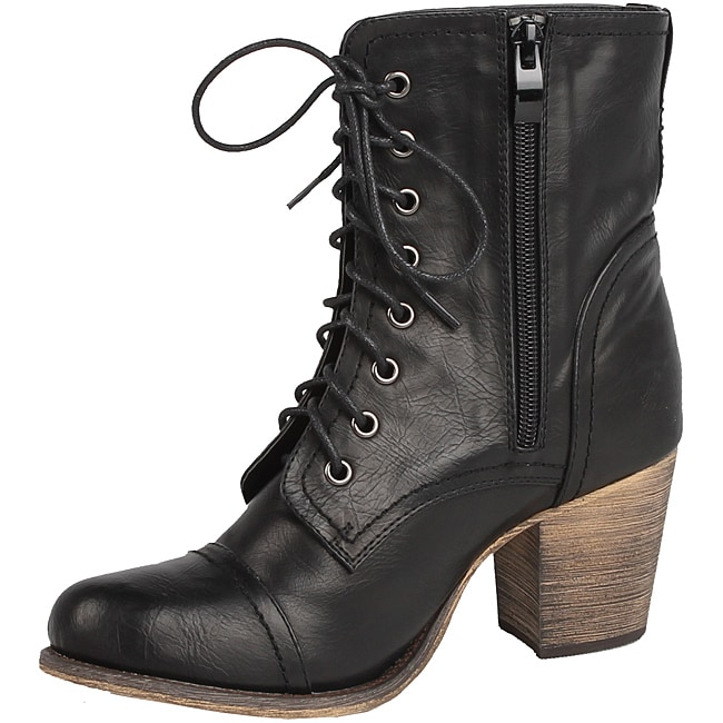 Modest by Beston Women's 'TOBE-04' Combat Boots