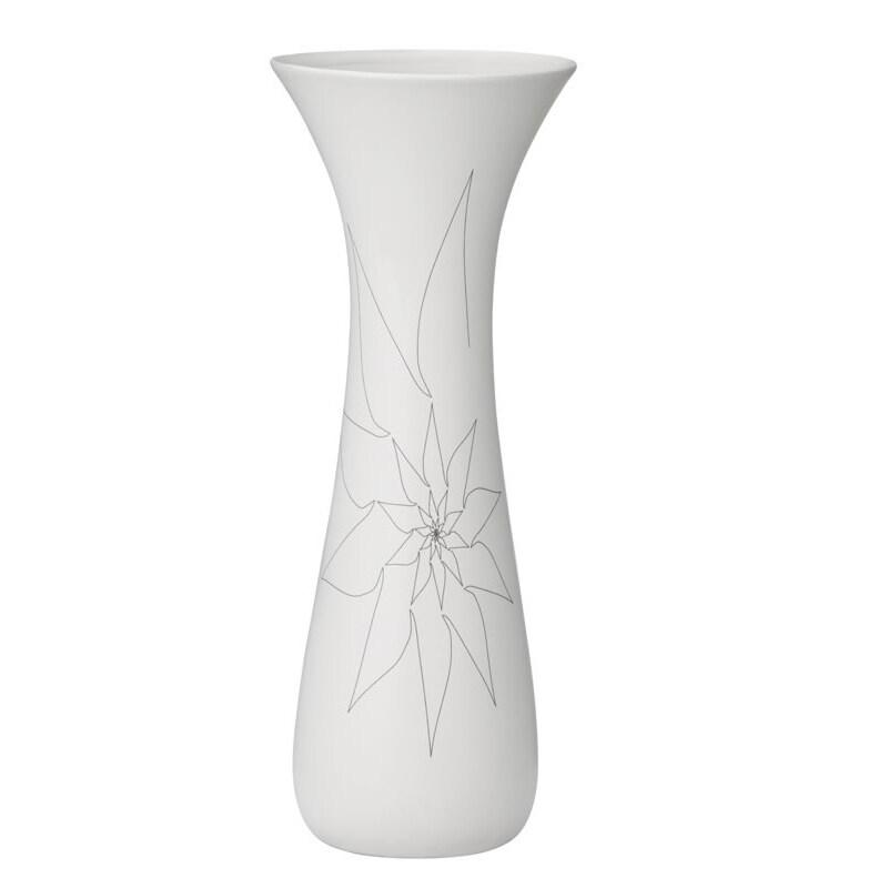 White Bambi Vase