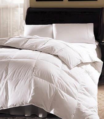 Aurora 233 Thread Count White Goose Down Comforter