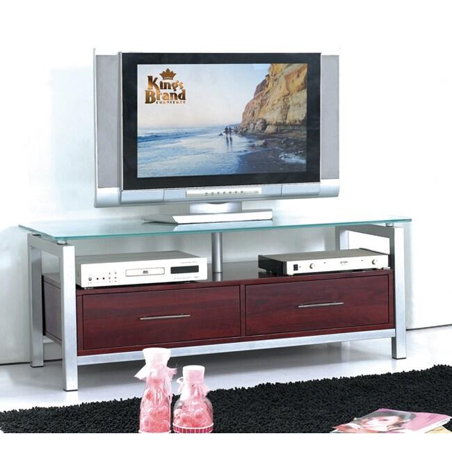 K&B Mahogany TV Stand