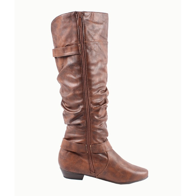 Blossom by Beston Women's 'Firenze-10' Over the Knee Boots