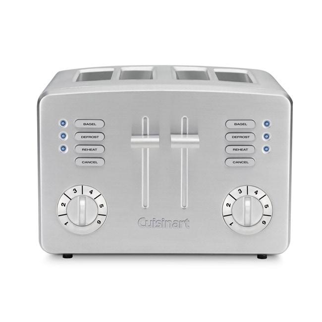 Cuisinart Four-slice Stainless Steel Toaster