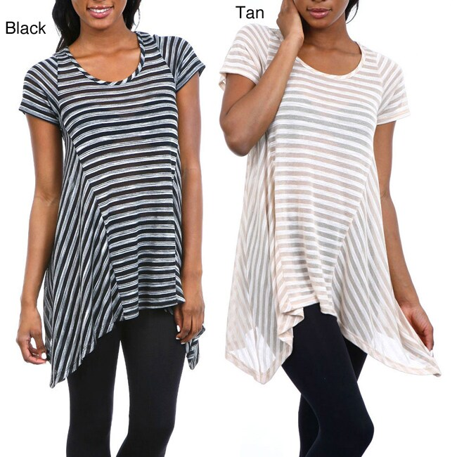 Stanzino Women's Striped Trapeze Top