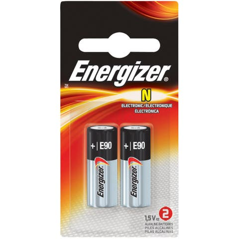 Energizer N Batteries, 2 Pack