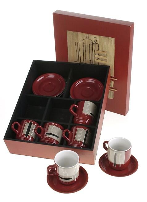 Rosa Piatti Boxed Cappuccino Set (Brazil)