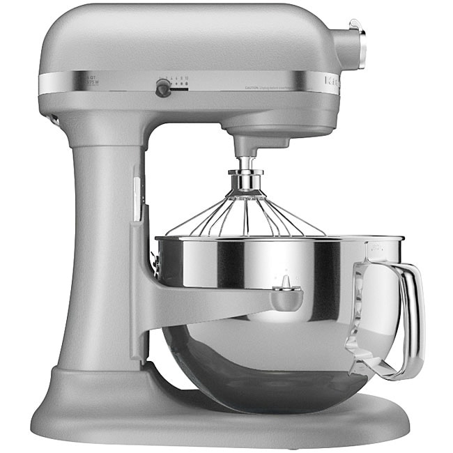 KitchenAid RKP26M1XMC Metallic Chrome 6-quart Pro 600 Bowl-Lift Stand Mixer (Refurbished) - Thumbnail 0