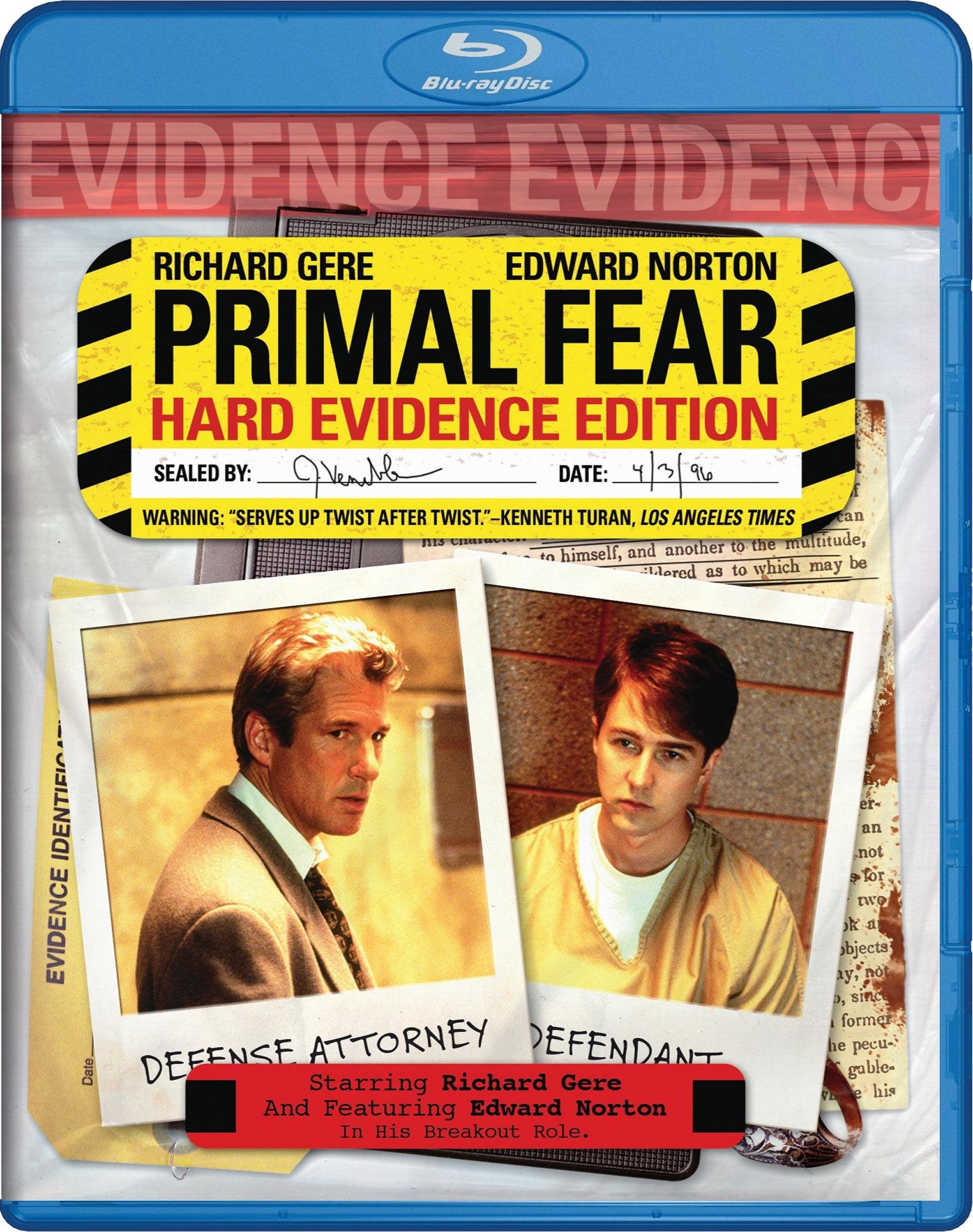 Primal Fear (Blu-ray Disc)