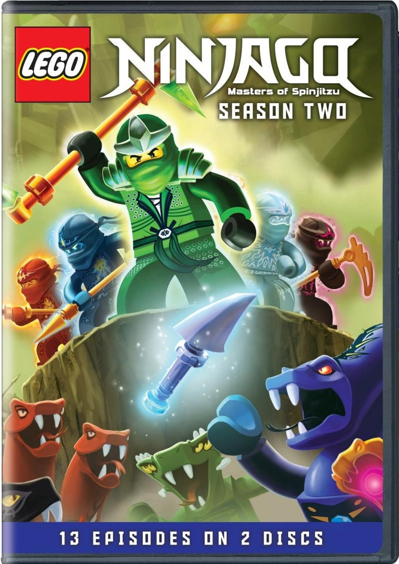 Lego Ninjago: Masters Of Spinjitzu Season Two (DVD) - Thumbnail 0