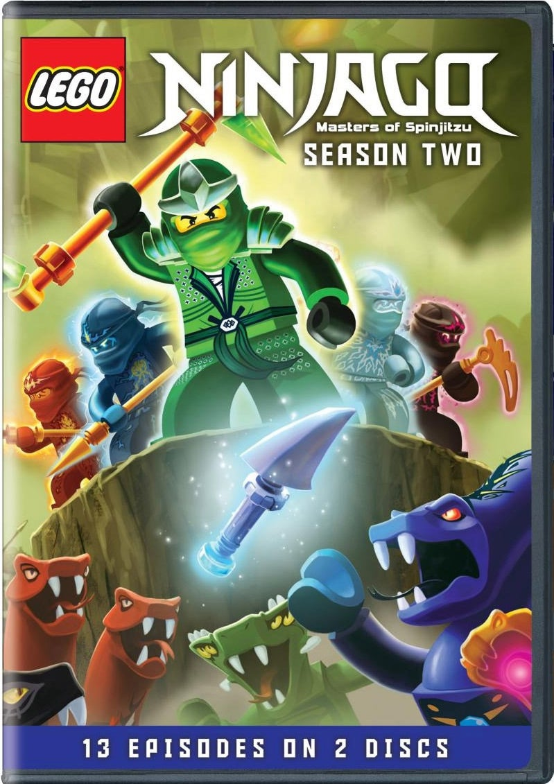 Lego Ninjago: Masters Of Spinjitzu Season Two (DVD)