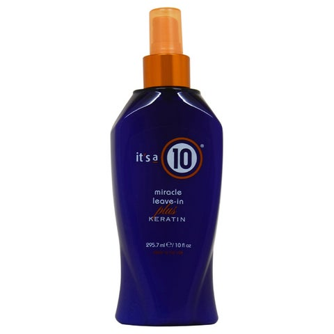 Its a 10 Miracle Leave-in Conditioner Plus Keratin