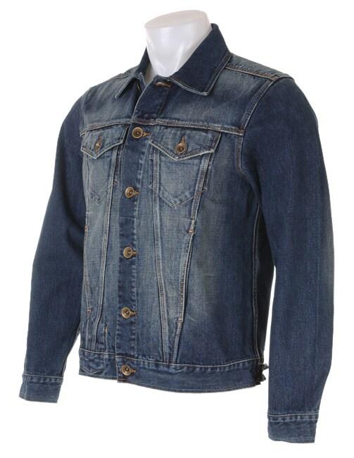 c82d4cdd9e4 Shop Sean John Men s Faded Denim Jacket - Free Shipping On Orders ...