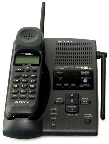 Thumbnail Sony SPPA973 Digital 900MHz Cordless Telephone Refurbished