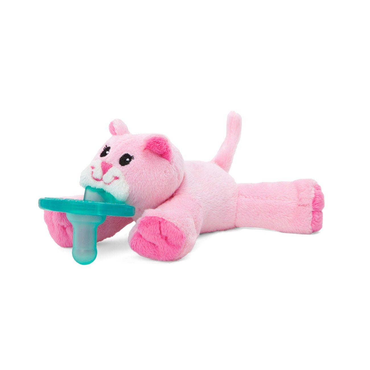 Wubbanub Pink Kitty Infant Pacifier (Pink Kitty)