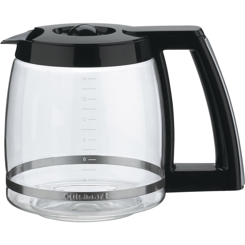 Cuisinart Black 14 Cup Replacement Carafe Free Shipping