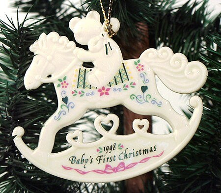 shop lenox 1998 babys first christmas ornament free shipping on orders over 45 overstockcom 8767