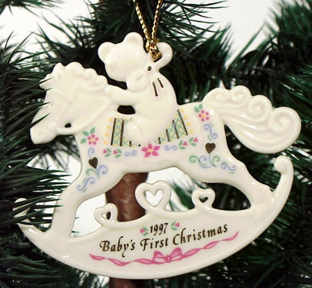 shop lenox 1997 babys first christmas ornament free shipping on orders over 45 overstockcom 8770