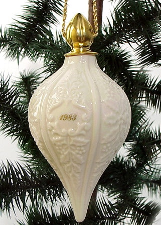 lenox 1983 christmas ornament