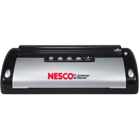 Nesco VS-02 White Food Vacuum Sealer