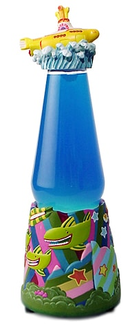 Shop Beatles Yellow Submarine Lava Lamp Free Shipping