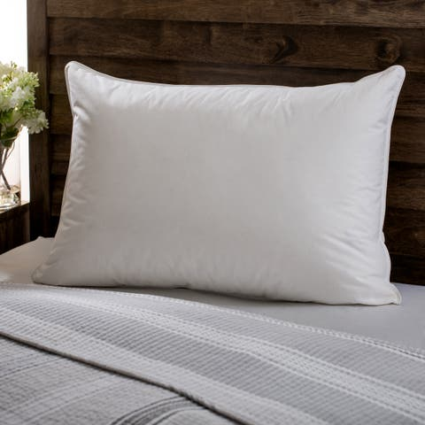 European Heritage Down Opulence Hypoallergenic Firm White Goose Down Pillow