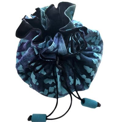 Luggage Spotter Turquoise Travel Jewelry Pouch Bag, Cosmetic Organizer, and Essential Oil Tote