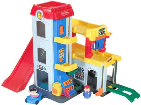 Little People Garage : Shop little people fun sounds garage free shipping on orders