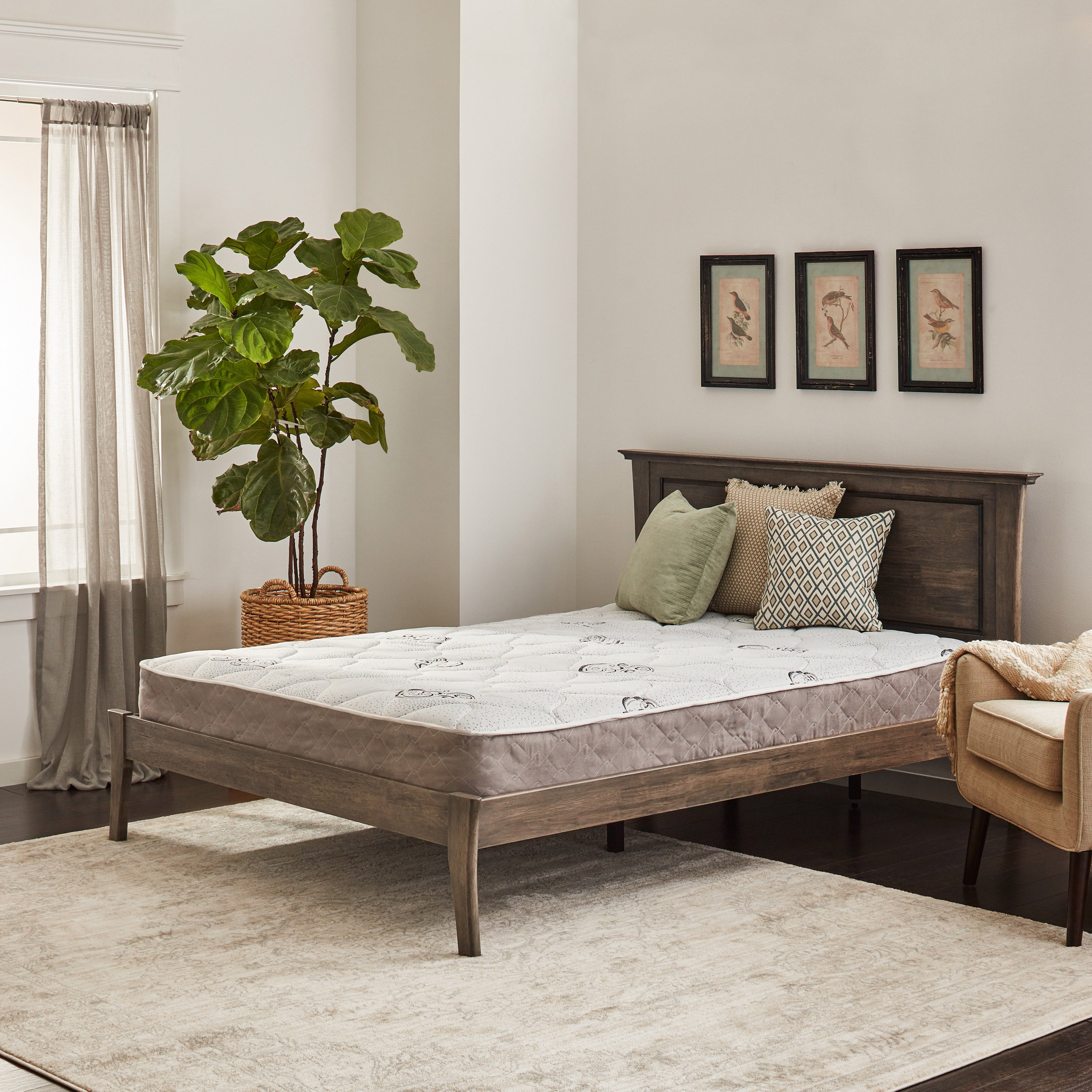 Wolf Pure and Simple Twin-size Plush Innerspring Mattress...