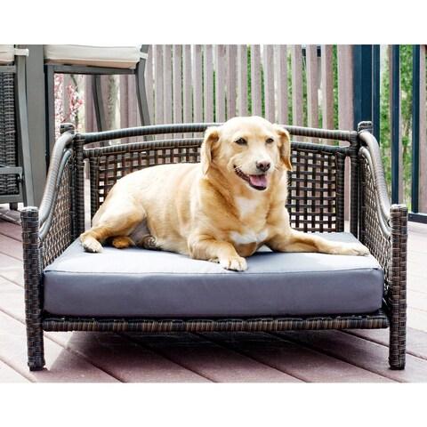 Maharaja Rattan Pet Day Bed - Indoor/Outdoor - N/A