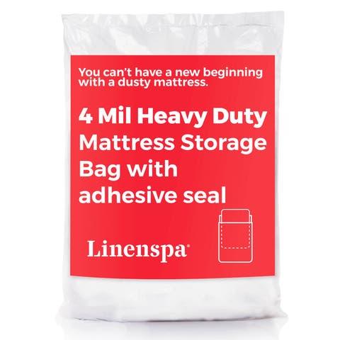 Linenspa 4 Mil Heavy Duty Mattress Storage Bag