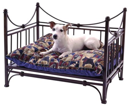 Wrought Iron Dog Bed