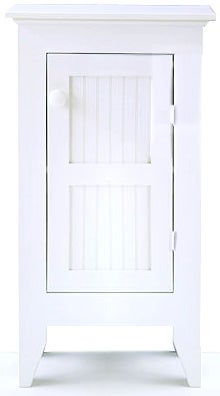 Tall White Jelly Cabinet