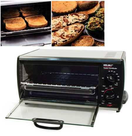 Welbilt Stainless Toaster Oven Broiler Free Shipping On
