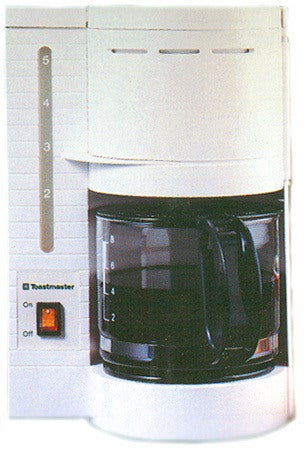 Toastmaster Five-cup Coffee Maker