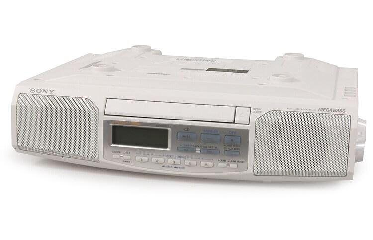 Sony ICF-CD513 Space Saver CD Clock Radio (Refurbished)