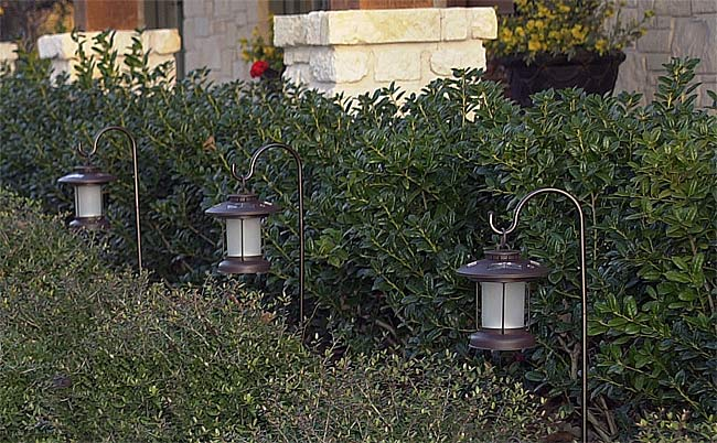 Thumbnail Hurricane Amber Solar Lights Set Of 4