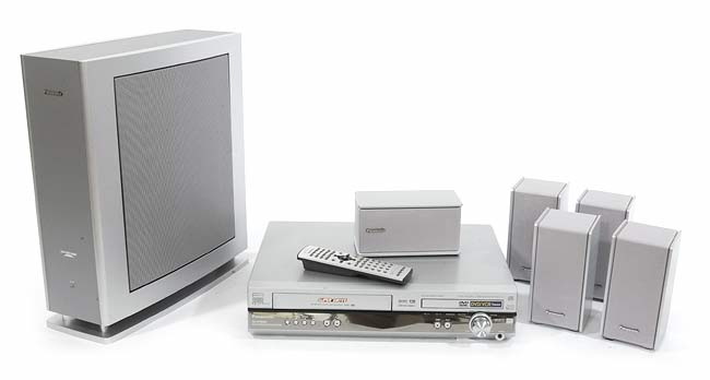 Panasonic SC-HT800V Home Theater System with DVD (Refurbished)