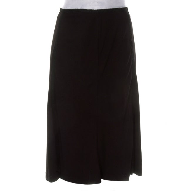 Black Jersey Knit Skirt 84