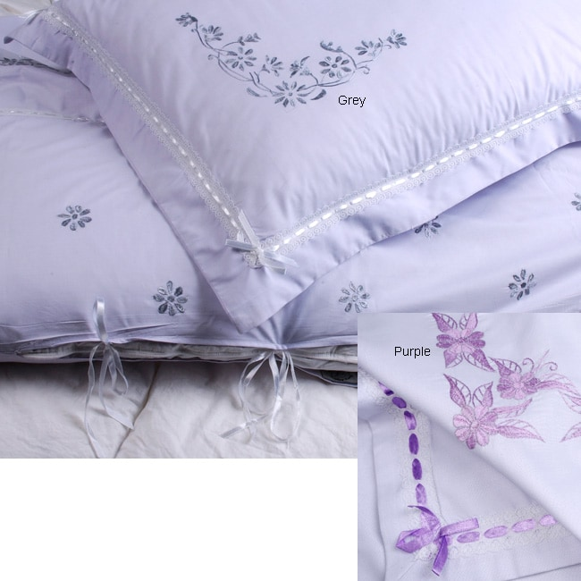 Queen Embroidered Duvet Cover Set (Afghanistan)
