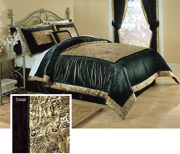 Marquis Luxury Bedding Ensemble With 230tc Sheet Set (Queen)