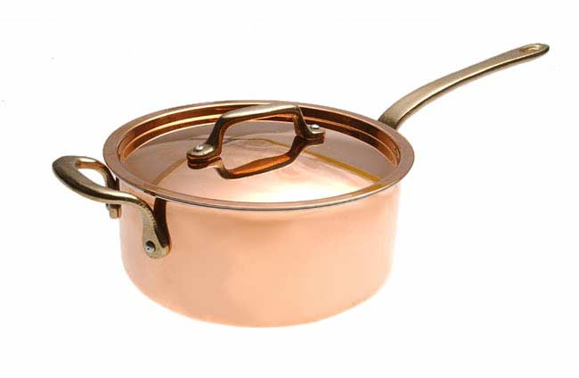 Shop Philippe Richard 3 Qt Covered Sauce Pan With Assist