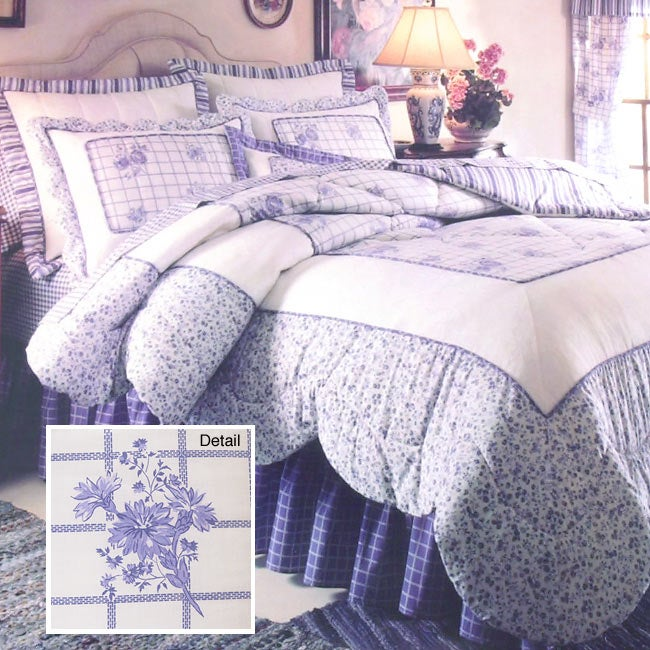 Provencal Sky Bedding Ensemble with 230 tc Sheet Set