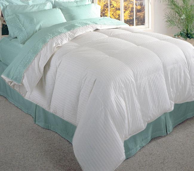 luxury 600 thread count goose down comforter king