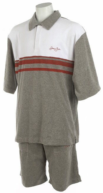 Sean John Men's Terry Cloth Short Set