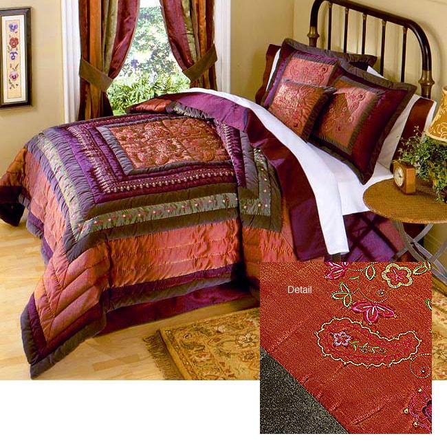Romance Luxury 8-piece Bedding Ensemble w/ 230tc Sheet Set