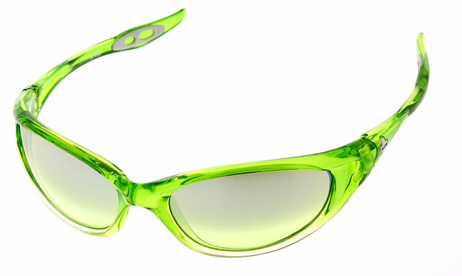 ed17b8ff4424e Shop Spy Micro Scoop Lime Fade Lime-Silver Sunglasses - Free Shipping On Orders  Over  45 - Overstock - 711896