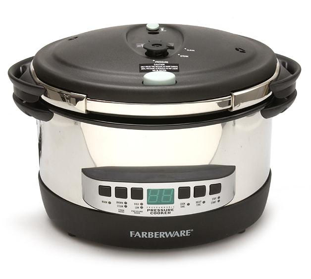 Farberware 8-qt. Oval Programmable Pressure Cooker - 040890 ...
